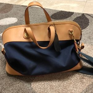 Large Dooney and Bourke cabriolet  weekender